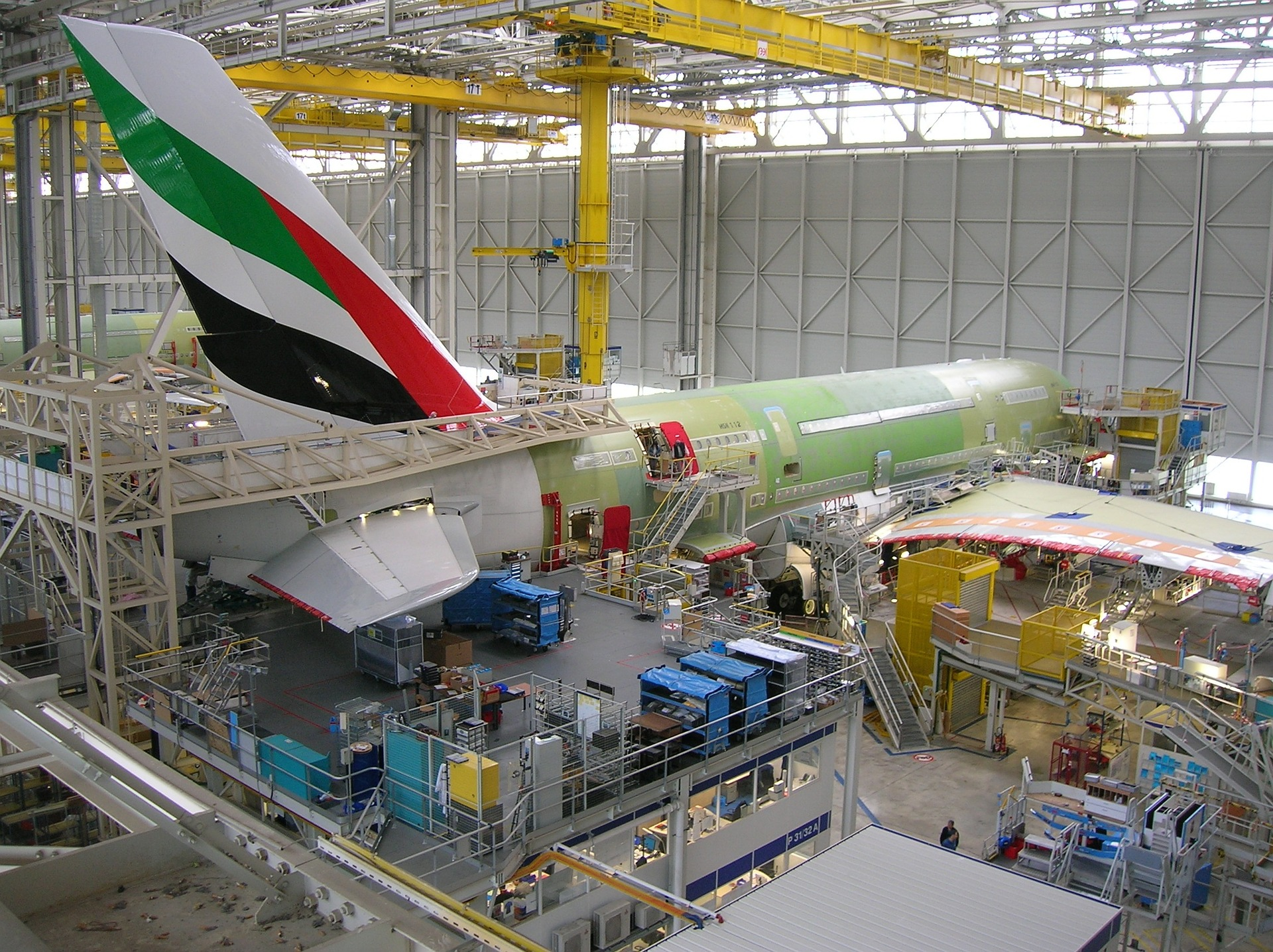 Lean aircraft production
